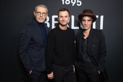 Lambert WILSON. Kris van ASSCHE. Samuel BENCHETRIT.. Show BERLUTI. W19-20. Opera de Paris. 01/2019 © david atlan
