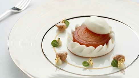 Gaddi's - Plated Dessert - Caramelised Apple Tatin (H)