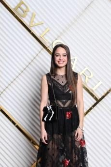 MILAN, ITALY - FEBRUARY 22: Matilde Gioli attends BVLGARI - Dinner Party - Milan Fashion Week FW19 on February 22, 2019 in Milan, Italy. (Photo by Daniele Venturelli/Daniele Venturelli/Getty Images for BVLGARI )