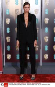 Mandatory Credit: Photo by David Fisher/BAFTA/REX/Shutterstock (10082374kr) Irina Shayk 72nd British Academy Film Awards, Arrivals, Royal Albert Hall, London, UK - 10 Feb 2019