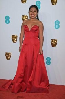 LONDON, ENGLAND - FEBRUARY 10: Yalitza Aparicio attends the EE British Academy Film Awards at Royal Albert Hall on February 10, 2019 in London, England. (Photo by David M. Benett/Dave Benett/Getty Images)