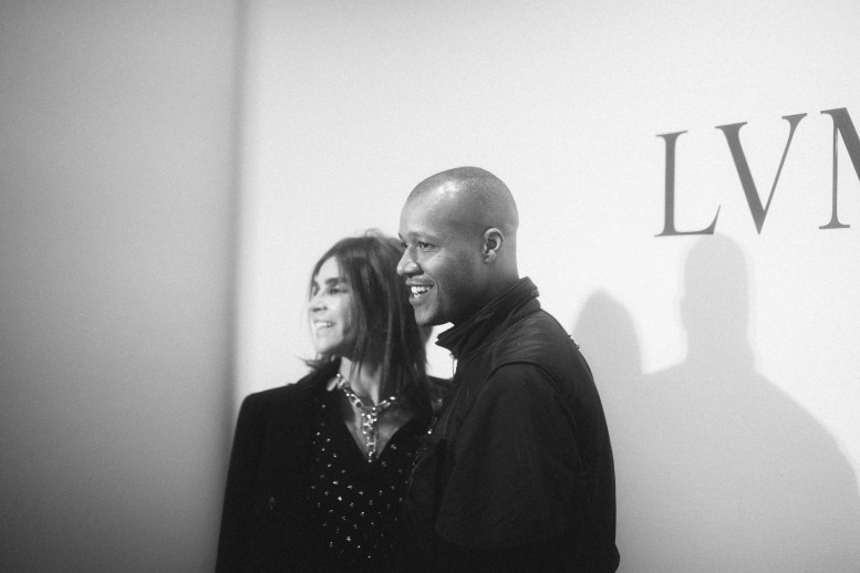 LVMH PRIZE 2019 COCKTAIL - CARINE ROITFELD AND HERON PRESTON © VIRGILE GUINARD