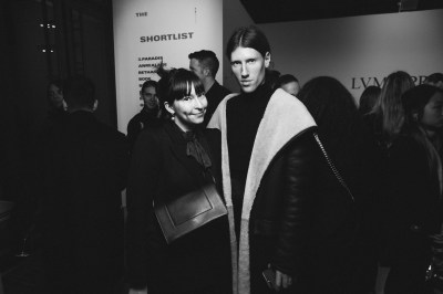 LVMH PRIZE 2019 COCKTAIL - CLARA CORNET AND LUDOVIC DE SAINT SERNIN © VIRGILE GUINARD