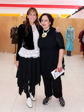 LVMH PRIZE 2019 COCKTAIL - JULIE GILHART AND IKRAM GOLDMANN ©François Goize