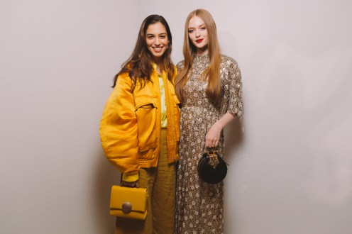 LVMH PRIZE 2019 COCKTAIL - MARINA TESTINO AND LARSEN THOMPSON © VIRGILE GUINARD