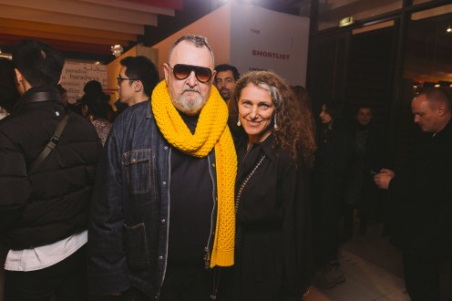 LVMH PRIZE 2019 COCKTAIL - MICHEL GAUBERT AND NATHALIE OURS © VIRGILE GUINARD