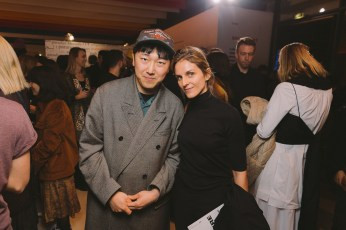LVMH PRIZE 2019 COCKTAIL - ROK HWANG AND GAIA REPOSSI © VIRGILE GUINARD