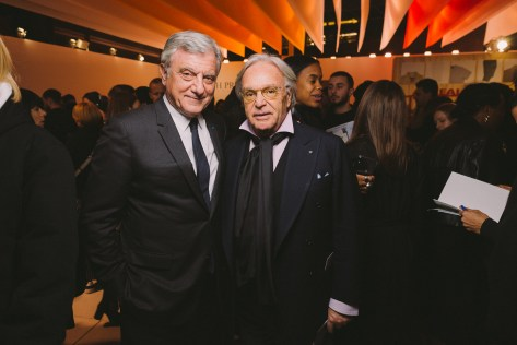 LVMH PRIZE 2019 COCKTAIL - SIDNEY TOLEDANO AND DIEGO DELLA VALLE © VIRGILE GUINARD