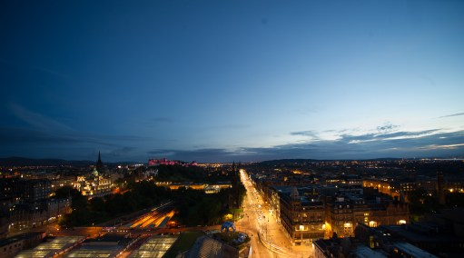 RFH The Balmoral - Edinburgh from the Clocktower 7987-2 AH Jul 14