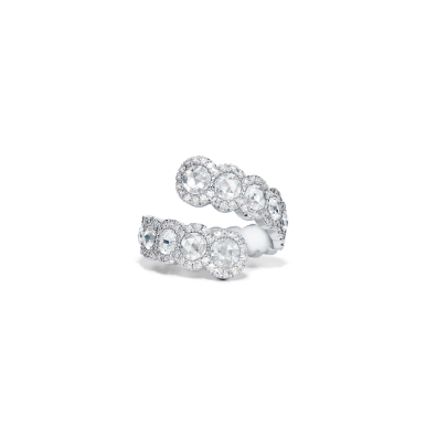 11-01-2581 Rnd RseCt Diam Ring front