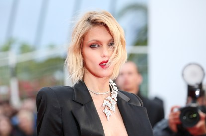"CANNES, FRANCE - MAY 17: Anja Rubik attends the screening of ""Pain And Glory (Dolor Y Gloria/Douleur Et Gloire)"" during the 72nd annual Cannes Film Festival on May 17, 2019 in Cannes, France. (Photo by Gisela Schober/Getty Images)"