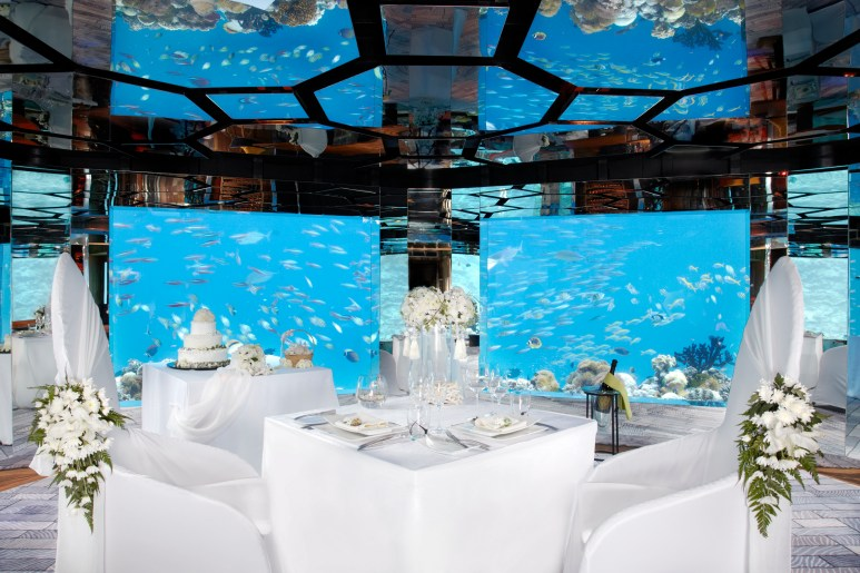 Anantara Kihavah - SEA Underwater Wedding