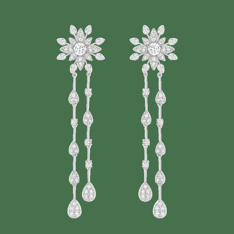Bo pendantes - argt rhodié, Burmalite blanche - Burma - 520€