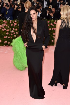 NEW YORK, NY - MAY 06: Demi Moore arrives at the 2019 Met Gala Celebrating Camp: Notes On Fashion at The Metropolitan Museum of Art on May 6, 2019 in New York City. (Photo by John Shearer/Getty Images for THR)