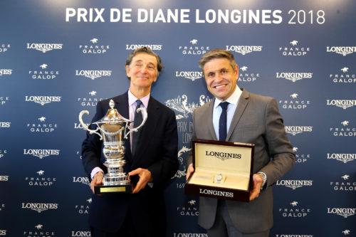 ParisLongchamp - 17/05/2018 - Soirée du Prix du Diane Longines 2018 - Juan-Carlos Capelli - Edouard de Rothschild -