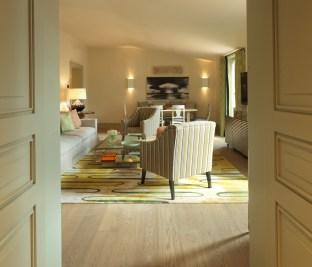 RFH - Hotel de Russie Popolo Suite - Sitting room from bedroom (doors showing)