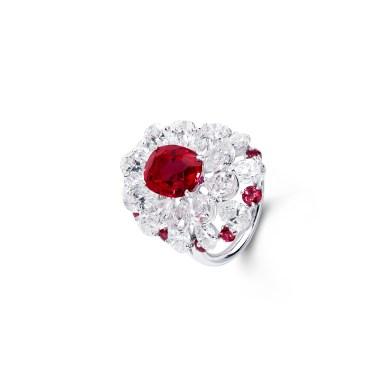 11-003-109 Ruby Diam Ring QR