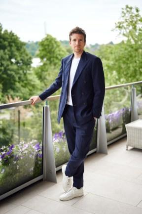 Greg James in Polo Ralph Lauren