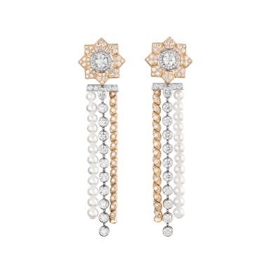 Médaille Solaire earrings J63706