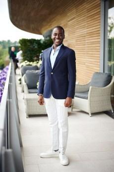 Ncuti Gatwa in Polo Ralph Lauren