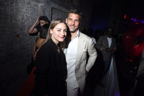 PARIS, FRANCE - JULY 02: Olivia Palermo and Johannes Huebl attend Tod's X Alber Elbaz Happy Moments at Yoyo Palais De Tokyo on July 02, 2019 in Paris, France. (Photo by Victor Boyko/WireImage)