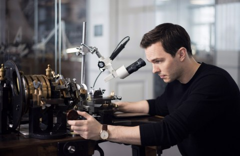 Nicholas Hoult Jaeger Lecoultre Master Ultra Thin Manufacture Jaeger-LeC...