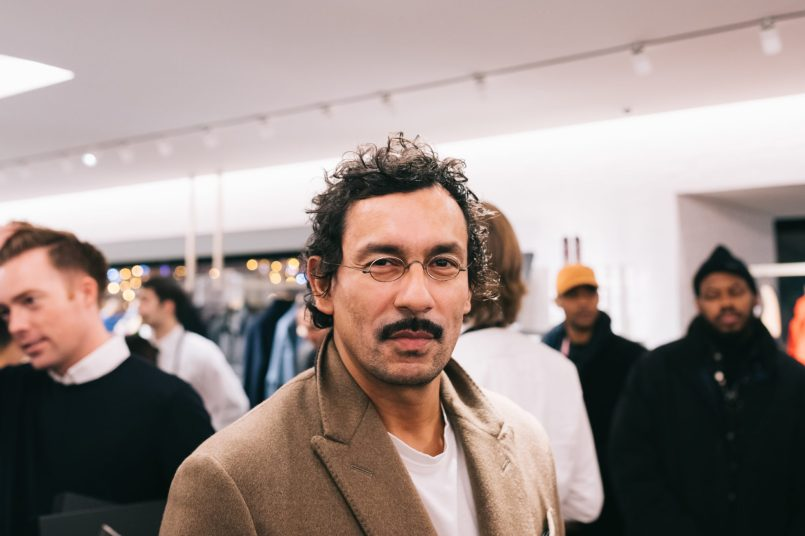 Haider Ackermann The Dior Sessions book signing 21.11.19