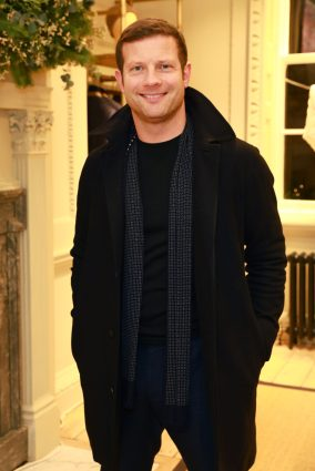 LONDON, ENGLAND - NOVEMBER 20: Dermot O'Leary attends the opening celebrations for the J.P Hackett store at No.14 Savile Row on November 20, 2019 in London, England. (Photo by David M. Benett/Dave Benett/Getty Images for Hackett)