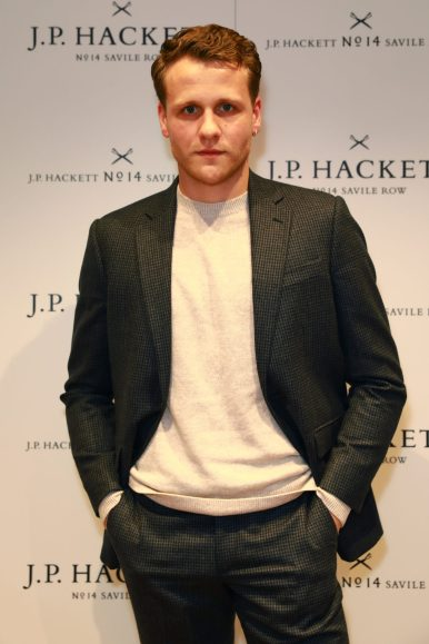 LONDON, ENGLAND - NOVEMBER 20: Actor Josh Dylan attends the opening celebrations for the J.P Hackett store at No.14 Savile Row on November 20, 2019 in London, England. (Photo by David M. Benett/Dave Benett/Getty Images for Hackett)