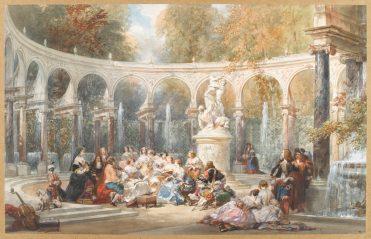 Lami Eugène (1800-1890). Paris, musée du Louvre, D.A.G.. RF4115-recto.