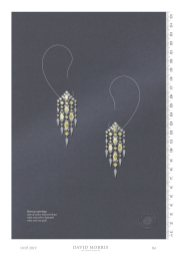 Boreas waterfall earrings crafted with 13.49ct yellow and white diamonds, set in 18ct white gold