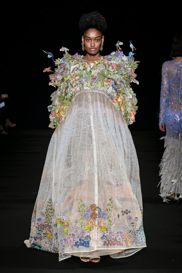Rahul Mishra - Couture SS2020 Collection - Look 28