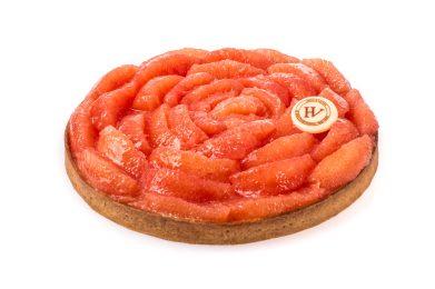 Tarte Pétale de Pamplemousse - dessert à partager