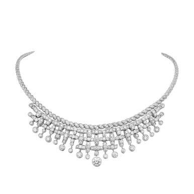 Tweed Frange necklace-hd