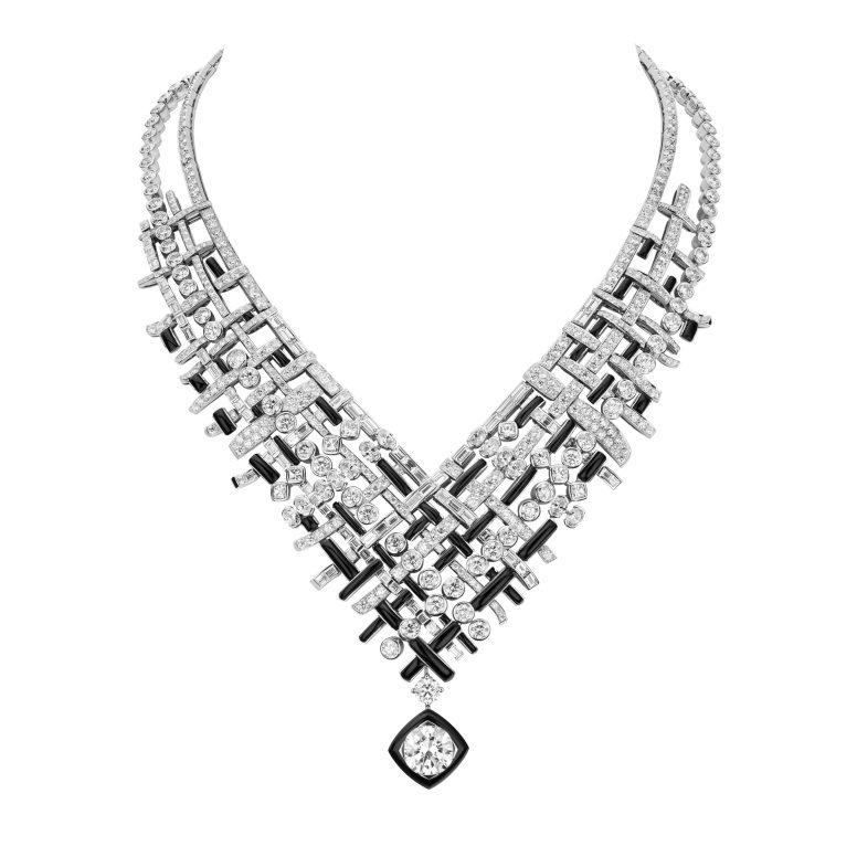 Tweed Graphique Necklace-hd
