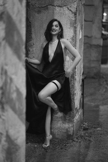 Ana de Armas_Chopard's Green Carpet Collection_BW ©Greg Williams (5)