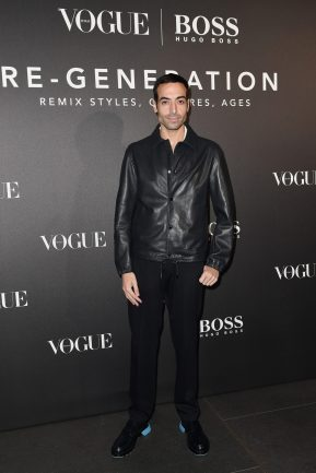 MILAN, ITALY - FEBRUARY 21: Mohammed Al Turki arrives for the BOSS & VOGUE Italia Event at Hotel Viu Milan on February 21, 2020 in Milan, Italy. (Photo by Jacopo M. Raule/Getty Images for Boss)