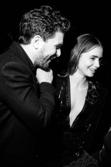 KIT HARINGTON & LILY COLLINS