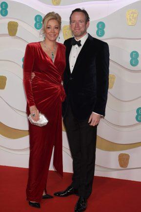 Nadja Swarovski and Rupert Adams