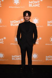 NEW YORK, NEW YORK - MARCH 10: A guest attends as Montblanc celebrates the launch of MB 01 Headphones & Summit 2+ at World of McIntosh on March 10, 2020 in New York City. (Photo by Dimitrios Kambouris/Getty Images for Montblanc)