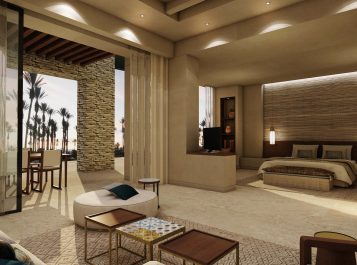 Anantara Tozeur One Bedroom Suite rendering
