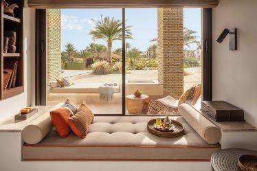 Anantara Tozeur Sahara Deluxe Room Bed View