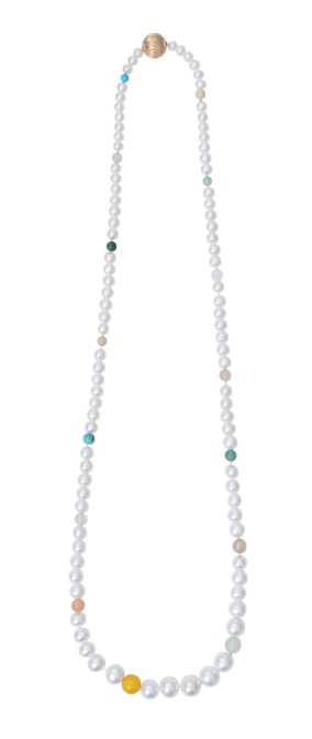 Collier_Freshwater_Pearls_Blush_Serpentine_Aquamarine_Turquoise_White_Moonstone_Rutile_76cm_D9971-001