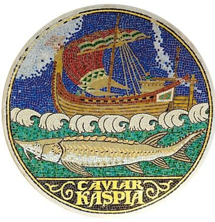 Kaspia - mosaique - leaflet