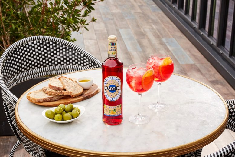MARTINI NON-ALCOHOLIC VIBRANTE AND TONIC SUMMER (WITH BOTTLE)