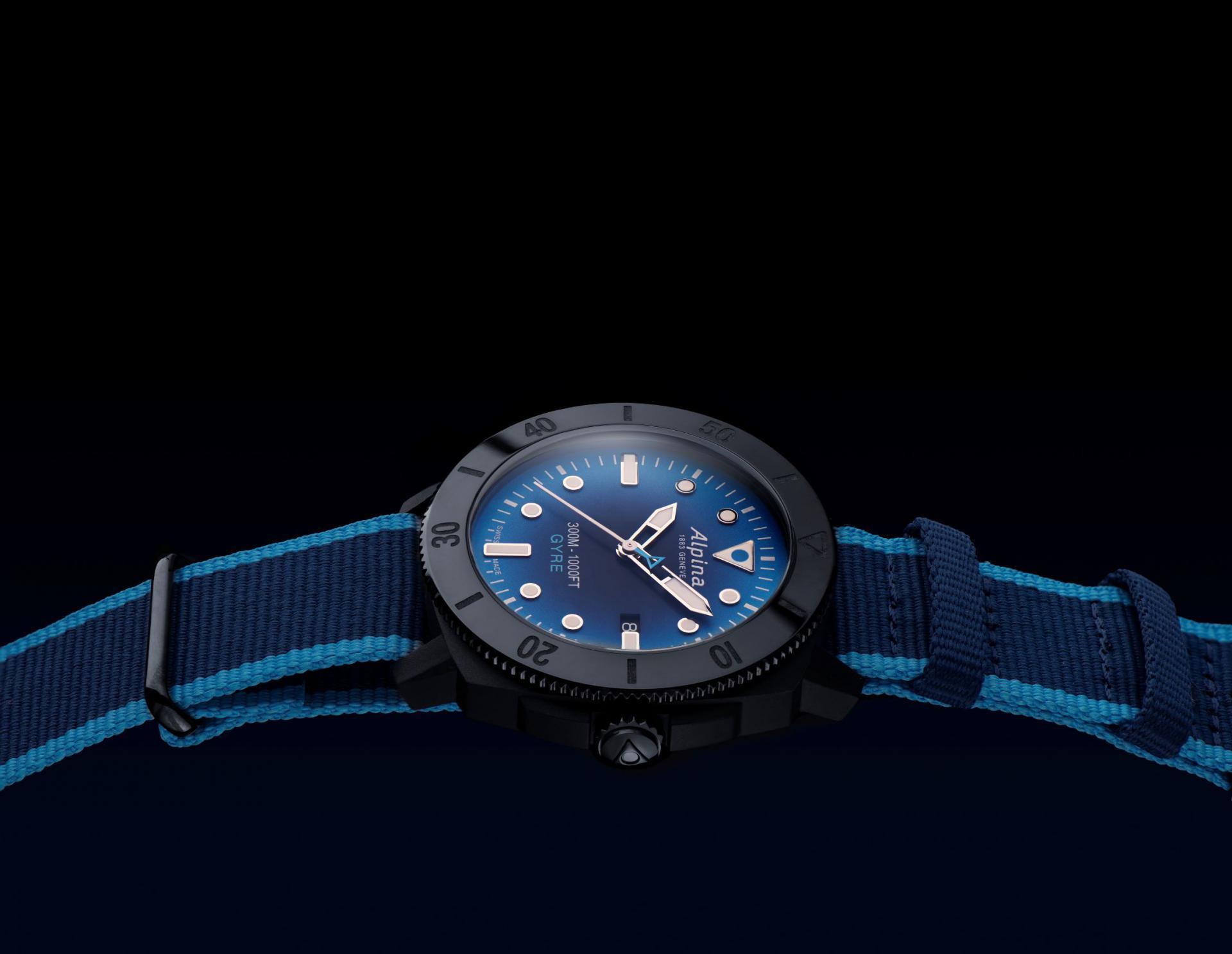 Montre Alpina – Seastrong Diver Gyre – une montre de plongée engagée pour les océans