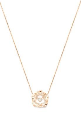 Piaget_Rose_Pendent RG Drop Diamond Chain_G35U0971