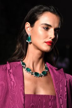ROME, ITALY - SEPTEMBER 14: A model walks the runway during Bulgari Barocco on September 14, 2020 in Rome, Italy. (Photo by Daniele Venturelli/Getty Images for Bulgari)