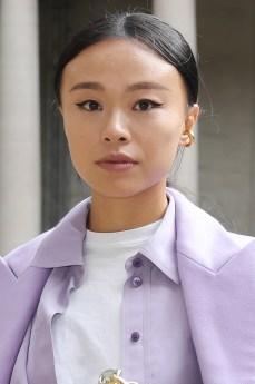 MILAN, ITALY - SEPTEMBER 25: Niki Wu Jie attends the BOSS Fashion Show during the Milan Fashion Week Spring/Summer 2021 on September 25, 2020 in Milan, Italy. (Photo by Vittorio Zunino Celotto/Getty Images for HugoBoss)