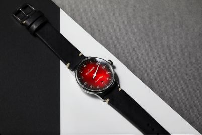 MeisterSinger Pangaea Date Edition France - ambiance rouge_3315 2